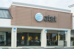AT&T ruchliwości sklep Fotografia Stock