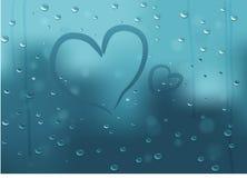 tła serc valentine Obraz Royalty Free