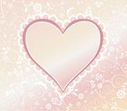 tła serca rocznik royalty ilustracja