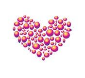 tła serca valentine Zdjęcia Stock