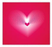 tła serca valentine Obraz Royalty Free