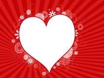 tła serce Fotografia Stock