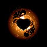 tła serce Obrazy Royalty Free