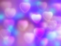 tła serce Fotografia Royalty Free