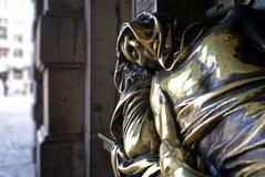 T'Serclaes Denkmal Brüssel Stockfotografie