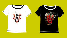 T-shirt stock illustratie
