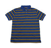 T-shirt. There is a striped T-shirt on the white background Royalty Free Stock Image