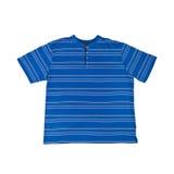 T-shirt azul imagem de stock royalty free