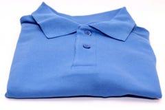 T-shirt bleu Images libres de droits