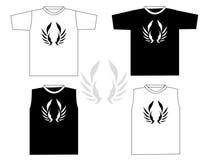 T-shirt bonito do vetor Imagens de Stock Royalty Free