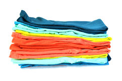 T-shirt coloré Photos stock