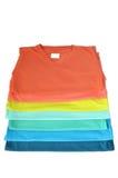 T-shirt coloré Photo stock