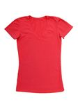 T-shirt cor-de-rosa Imagem de Stock