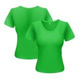 T-shirt da mulher Imagens de Stock