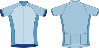 T-Shirt, das Jersey einen Kreislauf durchmacht Lizenzfreies Stockfoto
