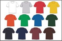 T-shirt de calibre de conception, vecteur Photo stock