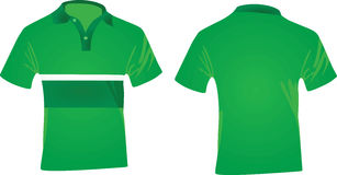 T-shirt de polo Photographie stock