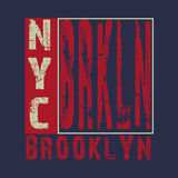 T-shirt de sport de New York Images stock