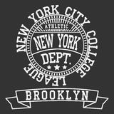 T-shirt de sport de New York Photos libres de droits
