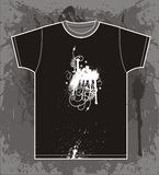 T shirt design Royalty Free Stock Photography