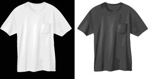 T-shirt design Stock Photos