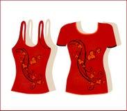 T-shirt design Royalty Free Stock Photos