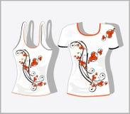 T-shirt design Royalty Free Stock Photo