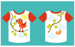 T-Shirt Design Lizenzfreies Stockfoto