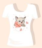 T-shirt design for children Stock Images