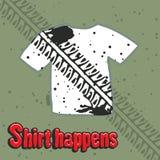 T-shirt design Royalty Free Stock Image