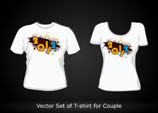T-shirt design template Stock Photo