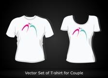 T-shirt design template Stock Images