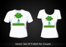T-shirt design template Stock Photos