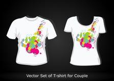 T-shirt design template Stock Photo