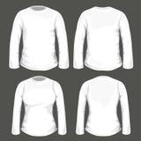 T-shirt Design Template Stock Image