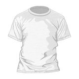 T-shirt design template Stock Image