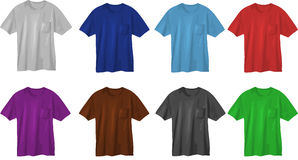 T-shirt design templates Royalty Free Stock Photos