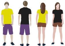 T-shirt design templates Royalty Free Stock Photo