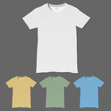 T-shirt design templates Stock Photos