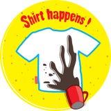 T-shirt design Stock Photos