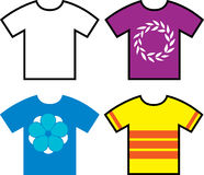 T shirt designs Royalty Free Stock Photography