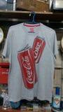 T-shirt do casco Imagem de Stock