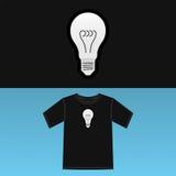T-Shirt Druck Stockfotos