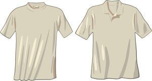 T-shirt e polo Imagem de Stock