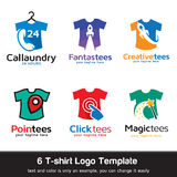 T-shirt - Fashion Logo Template Design Vector Stock Photography