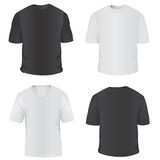 T-shirt For Men Vector Stock Photography