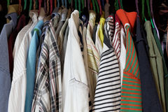 T-Shirt, Garderobe Lizenzfreies Stockfoto
