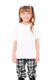 T-shirt on girl Royalty Free Stock Photography