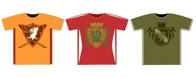T-shirt gráficos Imagens de Stock Royalty Free