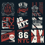 T-Shirt Grafiken Lizenzfreie Stockbilder